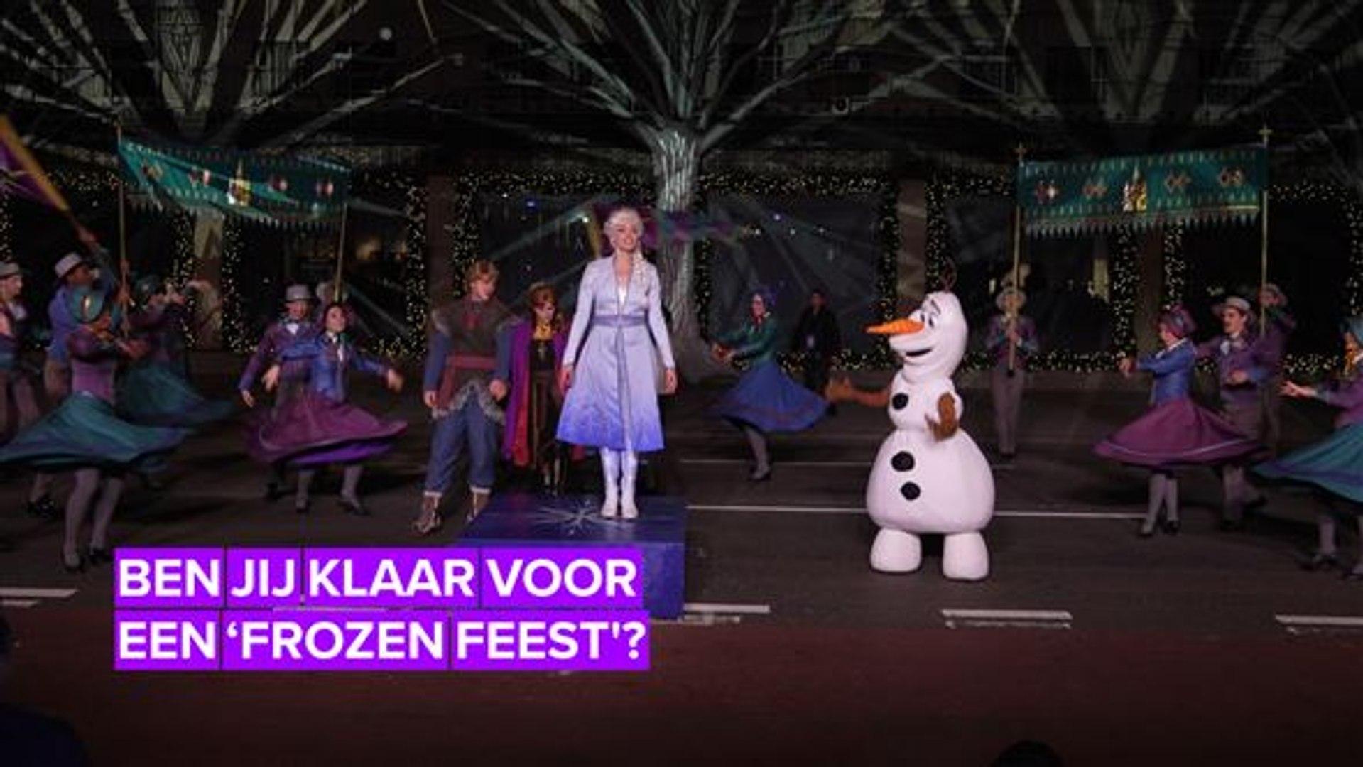 Disneyland Parijs viert 'Frozen 2' heel groots
