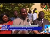 RTB/Rencontre entre le DG du fonds Burkinabè de développement Economique et social et les bénéficiaires du projet Burkina Star up