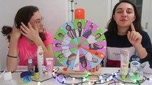 Mucize Doktor Çarkıfelek Slime Challenge Eğlenceli Çocuk su Çarktan Ne Çıkarsa Bidünya Oyuncak