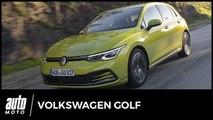 Essai Volkswagen Golf 8 TSI 130 : grand huit technologique