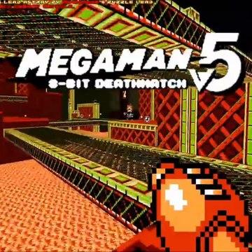 MegaMan 8-Bit Deathmatch (v5a) -  Abertura