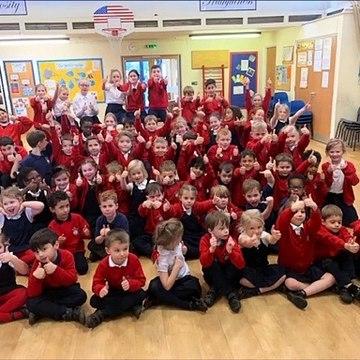 "Little Houghton C E Primary School - ""It's Christmas"" original song"