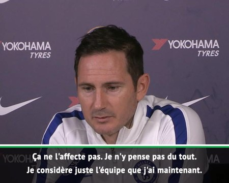 """16e j. - Lampard : """"La situation d'Olivier n'affecte pas notre recrutement"""""""
