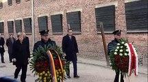 "Merkel ad Auschwitz: ""Responsabilità tutta tedesca"""