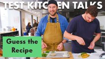 Pro Chefs Guess & Make a Recipe Based on Ingredients Alone