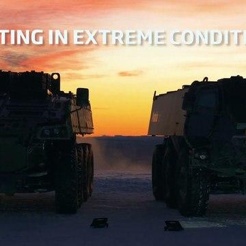 Patria - AMV XP 8X8 & 6x6 Armoured Wheeled Vehicles Winter Testing []