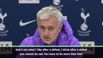 We need to be angry, not sad after United defeat - Mourinho