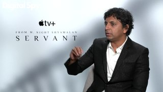 M. Night Shyamalan and the cast of Servant talk about Apple+ new mystery series