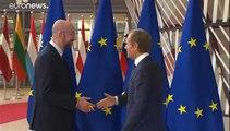 El ultimo acto de Juncker como presidente en el Estado de la Unión