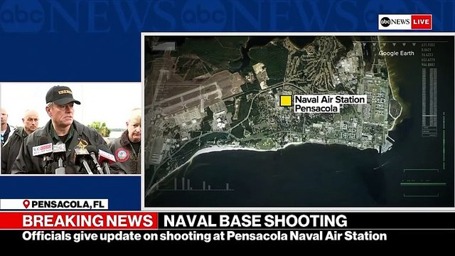 4 Killed In Florida Naval Base Shooting