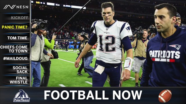Football Now: Patriots Try To Bounce Back At Home Against Chiefs