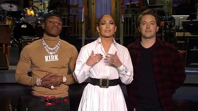 SNL: Beck Bennett Asks Jennifer Lopez And DaBaby For Music Advice