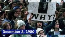 This Day in History: John Lennon Is Shot (Sunday, December 8)