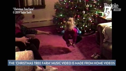 Taylor Swift Drops New Holiday Song 'Christmas Tree Farm' and a Music Video Featuring Home Footage