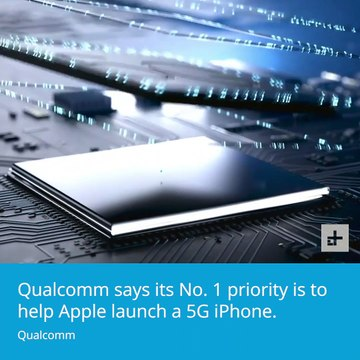 Qualcomm on 5G with Apple