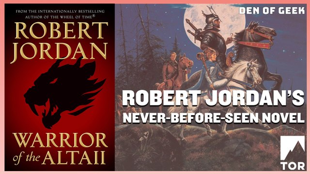 Robert Jordan's Never-Before-Seen Novel: Warrior of the Altaii (Sponsored)