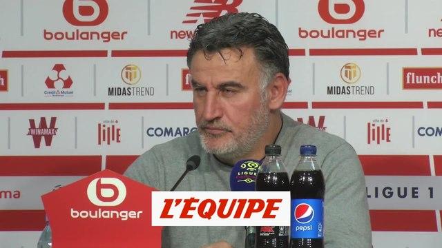 Galtier «On est tombé sur un très bon gardien» - Foot - L1 - Lille