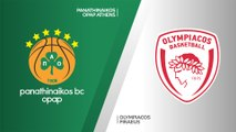 Panathinaikos OPAP Athens - Olympiacos Piraeus Highlights   EuroLeague, RS Round 12