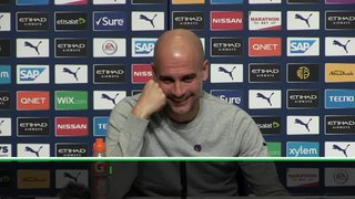 Pep's Man United quip distracts himself