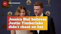 Jessica Biel Puts Trust Into Her Husband