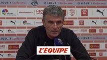 Blaquart «Il n'y a jamais penalty» - Foot - L1 - Nîmes