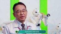 Toyota testa robô via 5G