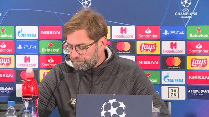 Liverpool - Klopp : ''Un grand respect pour Salzbourg''
