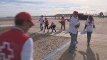 Los residuos marinos serán retirados de las playas valencianas por voluntarios de Cruz Roja