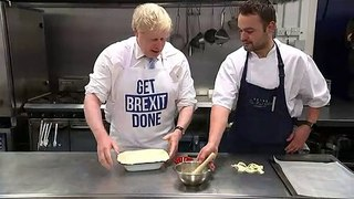 PM makes his 'oven ready' Brexit pie