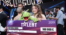 La France a un incroyable talent : la ventriloque Le Cas Pucine remporte la finale