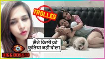Dalljiet Kaur Angry Reaction On Being TROLLED For Comparing Shehnaz Gill With A Dog | Bigg Boss 13