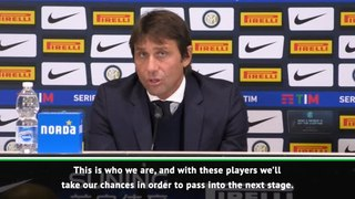 Conte urges Inter fans to get behind team for Barcelona clash