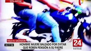 VES: Hombre fallece tras ser baleado por evitar que roben pensión de su padre