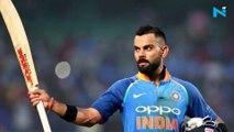 WATCH: Virat Kohli's 'notebook' celebration after hitting Kesrick Williams for a six