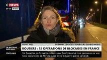 Des centaines de routiers bloquent depuis ce matin au moins une quinzaine de péages partout en France pour protester contre  une hausse de leurs taxes sur le gazole