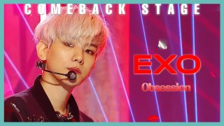 [Comeback Stage]  EXO - Obsession,  엑소  - Obsession Show Music core 20191207
