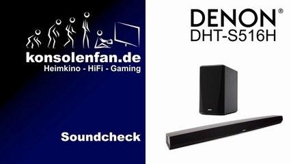 Test: Denon DHT-S516H - kleiner Soundriegel, großer Klang