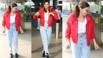 Deepika Padukone's Red Jacket price will SHOCK you | Boldsky