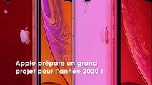 Apple préparerait 5 iPhone pour 2020, avec un tout nouveau design