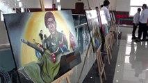Bitlis'te güzel sanatlar lisesi öğrencileri sergi açıp, konser verdi