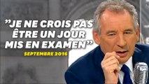 """Quand François Bayrou se vantait de n'avoir """"jamais traversé aucune affaire"""""""