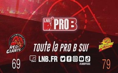 PRO B : Lille vs Vichy-Clermont (J9)