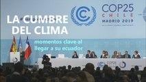 La cumbre del clima COP25 llega a su ecuador