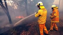 Incendios en la costa este de Australia