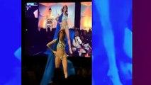 Miss Univers  la chute importante de Maeva Coucke sur scène