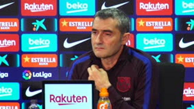 """Barça - Valverde : """"Notre intention est de battre l'Inter"""""""