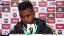"""Rodrygo Goes: """"Vinicius y yo nos entendemos solo con mirarnos"""""""