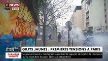 Images des incidents à Paris le samedi 7 décembre 2019 lors des manifestations