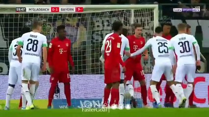 Auteur d'un doublé, Bensebaïni met le Bayern KO !