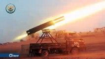 الفصائل تستهدف بصاروخ موجه سيارة لميليشيا أسد على جبهة جورين بحماة